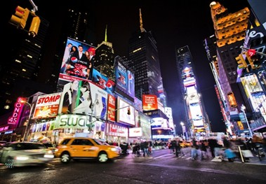 Times Square Nighttime
