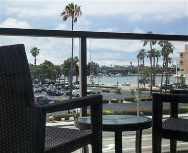 Patio View of Marina