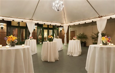Evening Event in Tent
