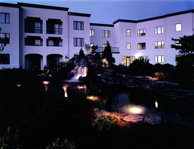 Night Falls At The Doubletree