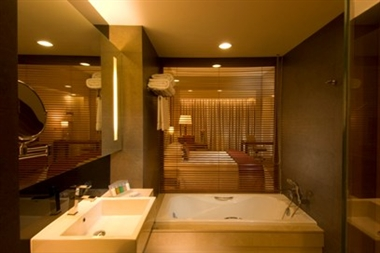 Doubletree Guest Room Bathroom