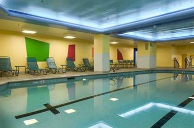 Indoor Pool in Gym at Carew Tower
