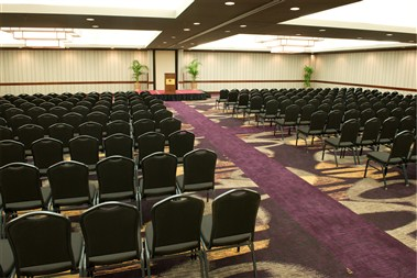 Ballroom with Meeting Setup