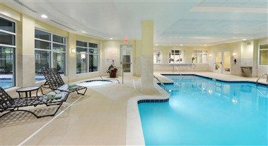 Indoor Heated Pool with whirlpool