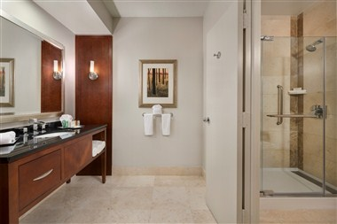 Standard Bathroom with Walk-In Shower