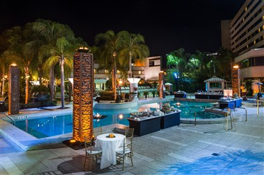 Outdoor Poolside Events