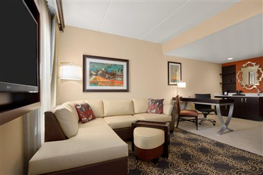 Living Area of Two Room Suites