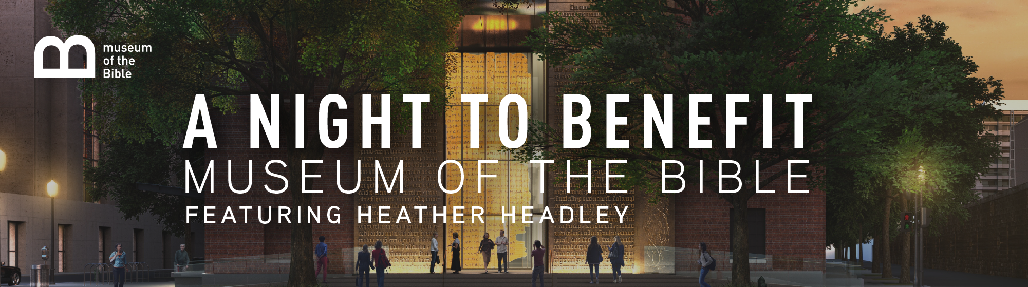 An Evening to Benefit Museum of the Bible Featuring Heather Headley