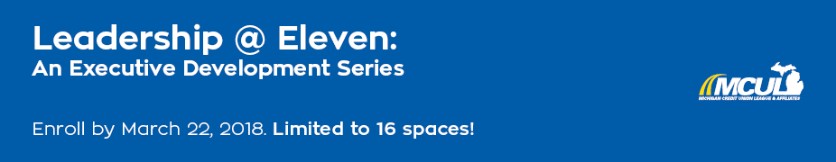Leadership at Eleven: An Executive Development Series