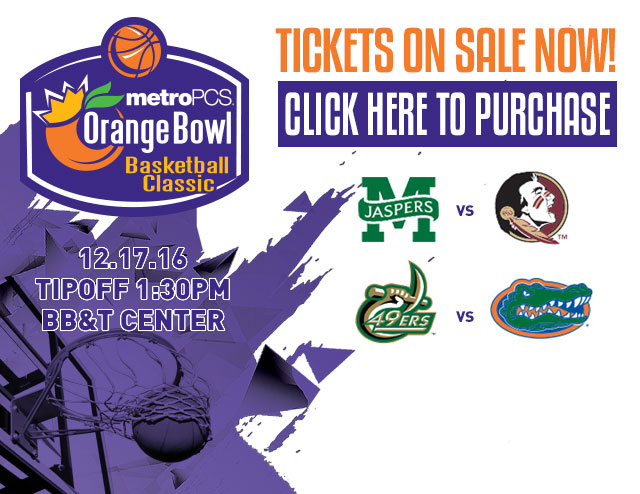 Orange Bowl Basketball Classic 1:30pm