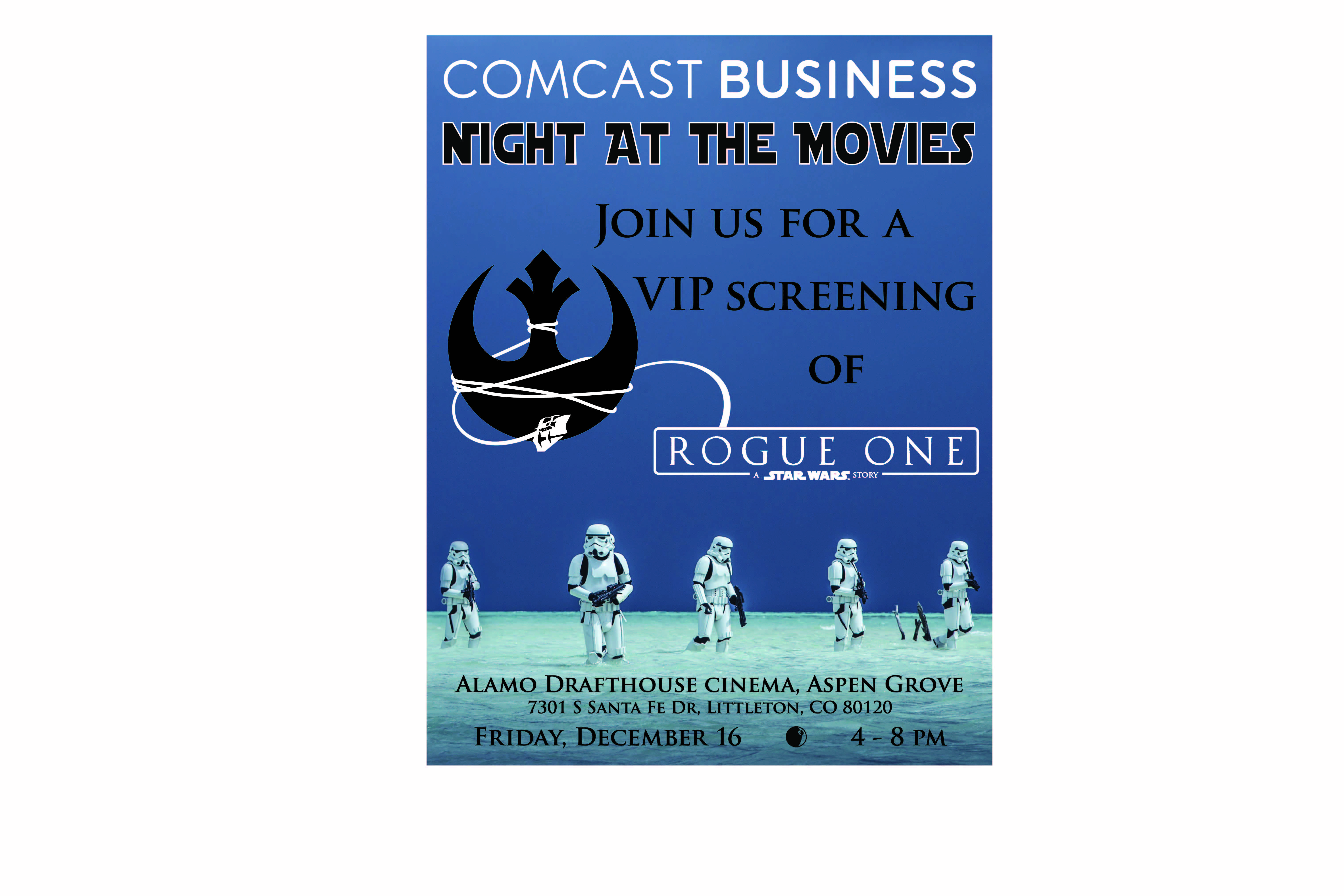 Comcast Business Night At The Movies