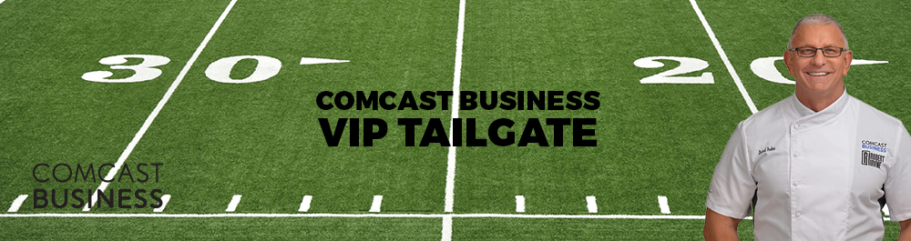 Comcast Business VIP Tailgate with Robert Irvine