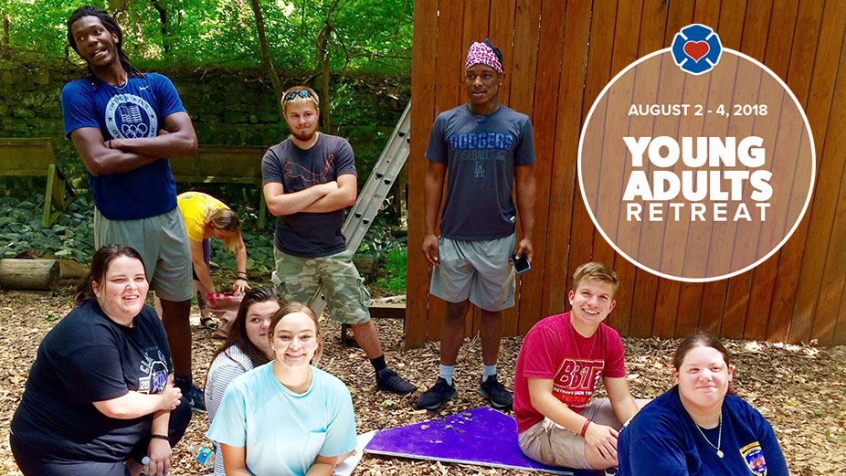 2018 Young Adults Retreat