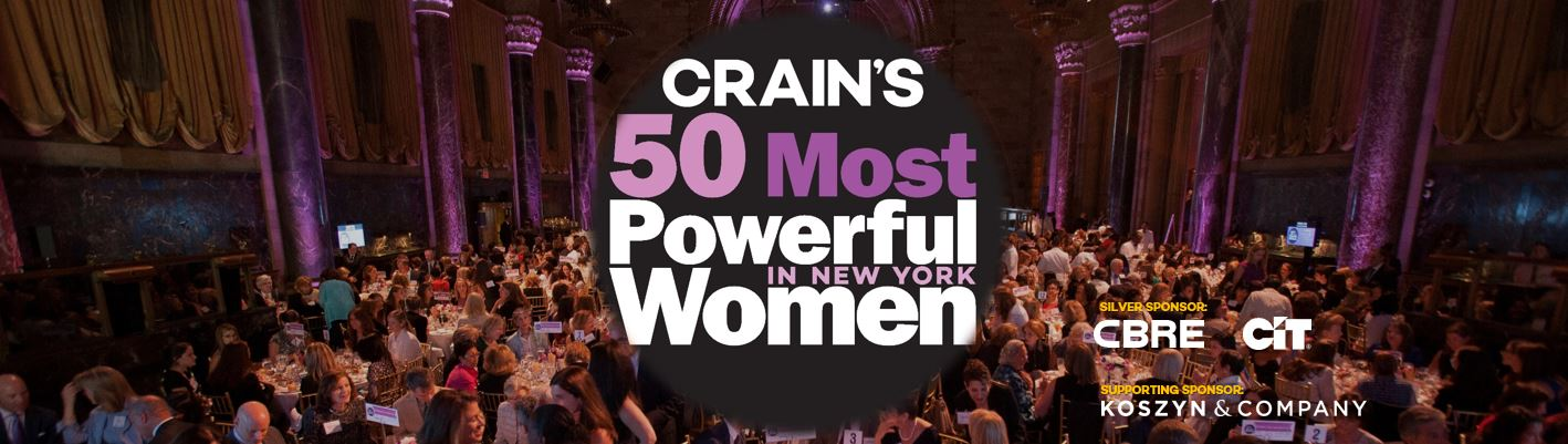 Crain's 50 Most Powerful Women in New York City