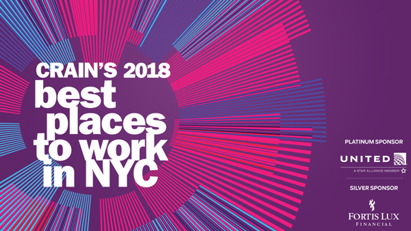 Crain's 2018 Best Places to Work