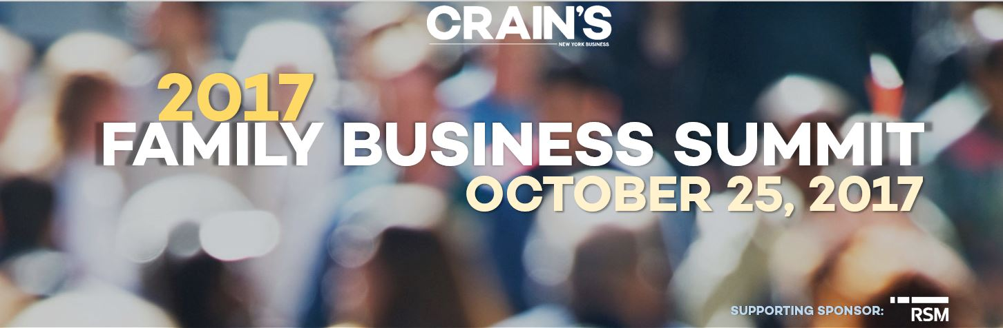 Crain's 2017 Family Business Summit