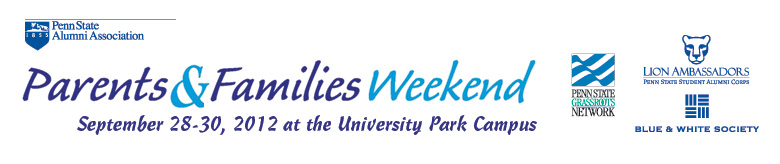 2012 Parents & Families Weekend