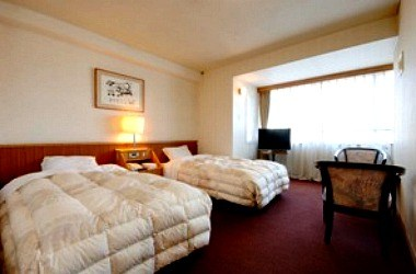 Western style room with twin size bed