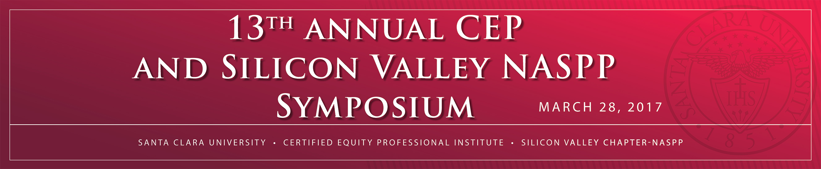 13th Annual CEP and Silicon Valley NASPP Symposium