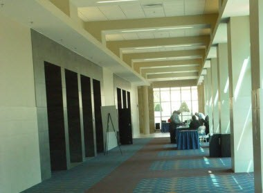 McLennan Hall Pre-function area