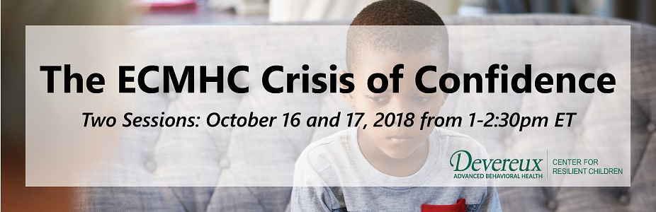 The ECMHC Crisis of Confidence [Two Session Webinar]