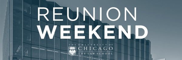 Law School Reunion Weekend 2018