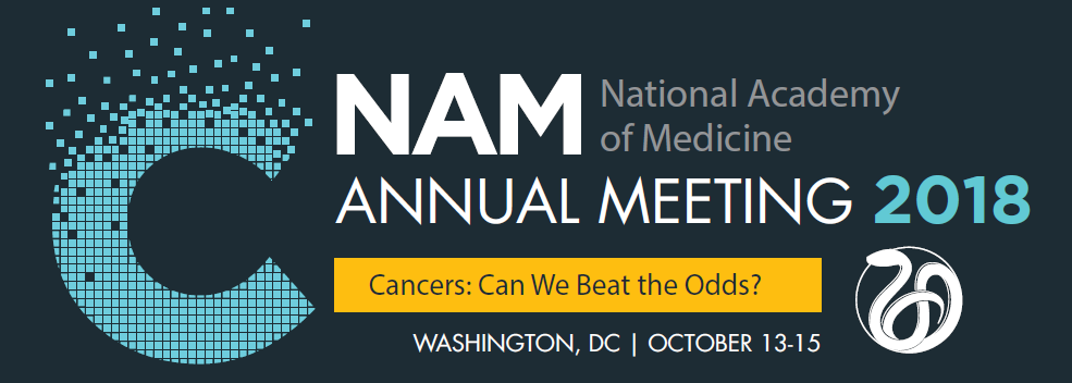 NAM 2018 Annual Meeting Registration