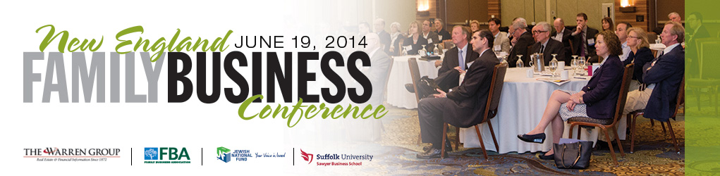 New England Family Business Conference 2014