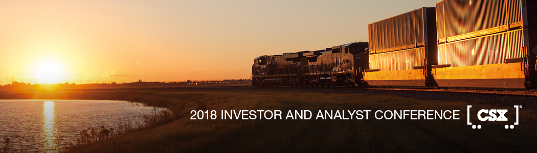 2018 CSX Investor & Analyst Conference