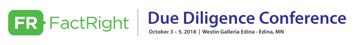 FactRight - Due Diligence Conference