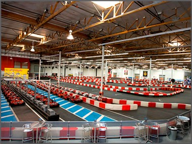 K1 Speed Carlsbad Pits and race track