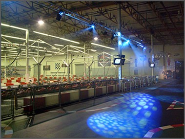 K1 Speed Carlsbad Club-Like Light/Sound system