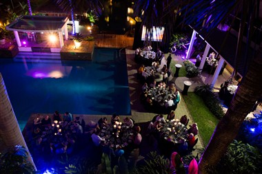Formal Pool Dining