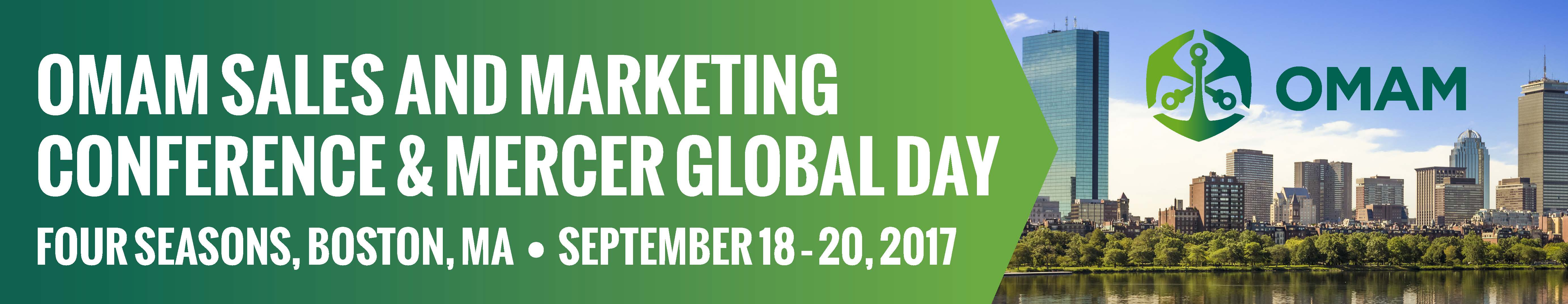 2017 Sales and Marketing Conference and Mercer Global Day