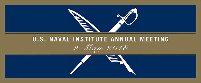 U.S. Naval Institute Annual Meeting 2018
