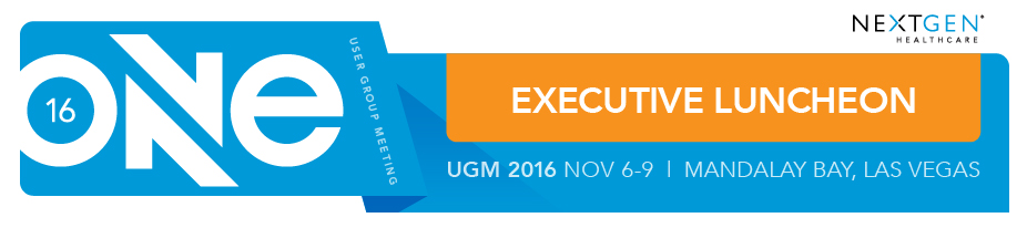 Executive Networking Luncheon | ONE UGM 2016