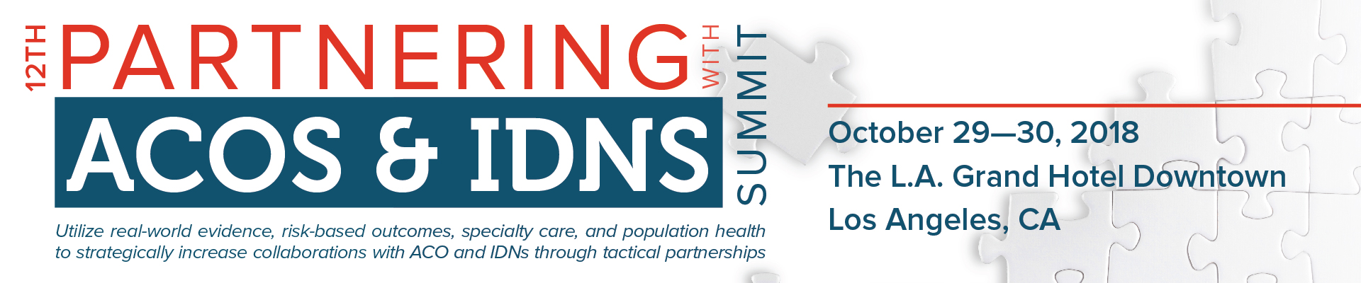 12th Partnering with ACOs & IDNs Summit