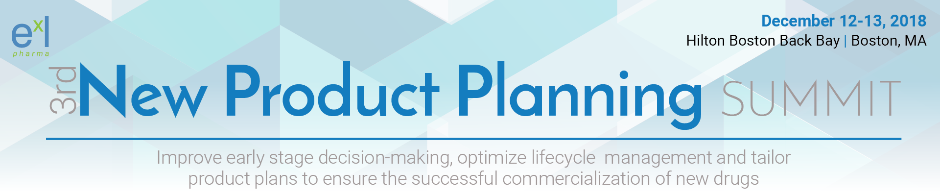 3rd New Product Planning Summit