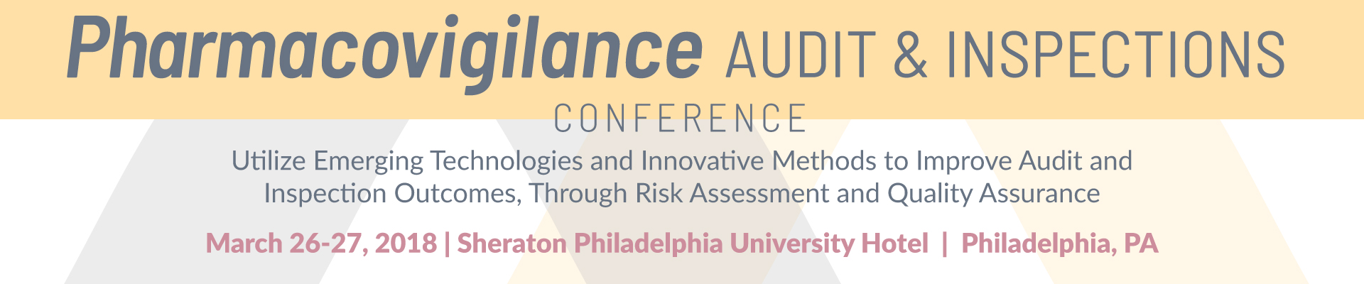 Pharmacovigilance Audit and Inspections Conference