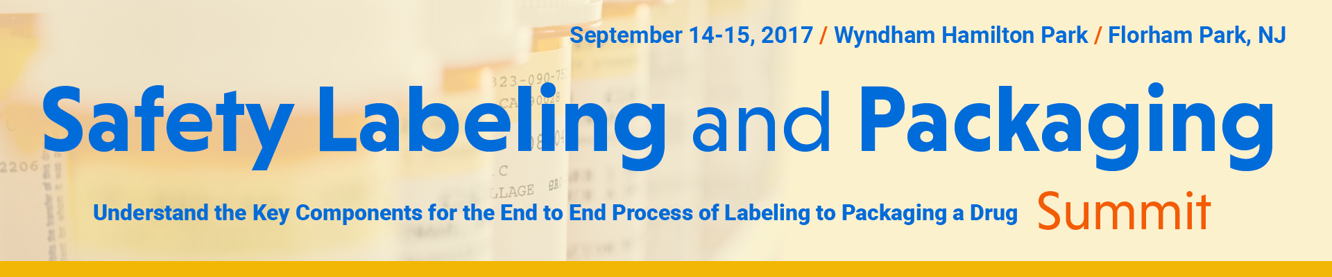 Safety Labeling and Packaging Summit