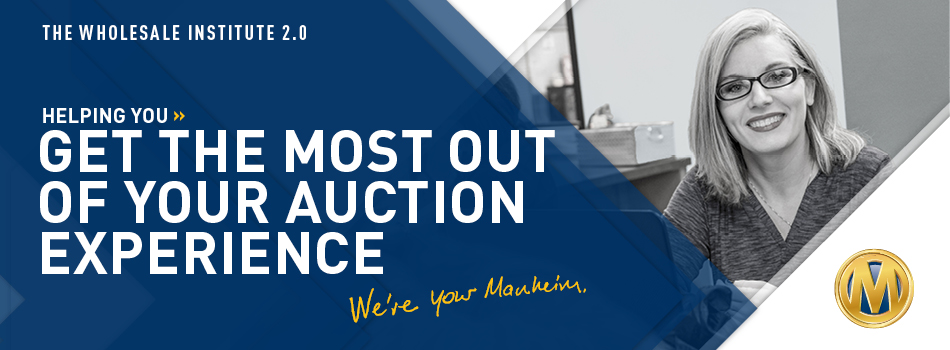Manheim Wholesale Institute 2.0 - Philadelphia