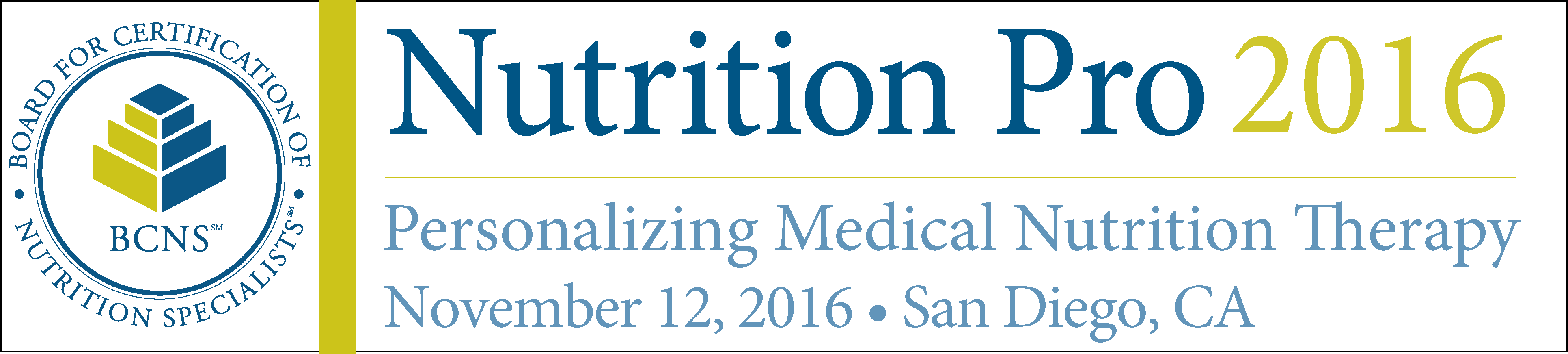 Nutrition Pro 2016 Symposium: Personalizing Medical Nutrition Therapy