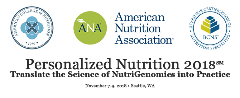 Exhibit Registration: Personalized Nutrition 2018: Translate the Science of NutriGenomics into Practice