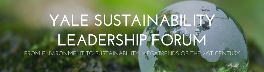 Yale Sustainability Leadership Forum