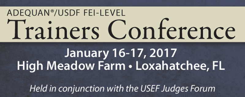 Adequan®/USDF FEI-Level Trainers Conference