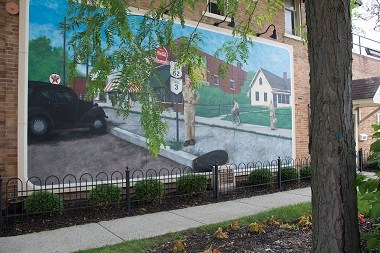 Grove City Town Center Mural