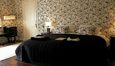 The Black & White Bedroom