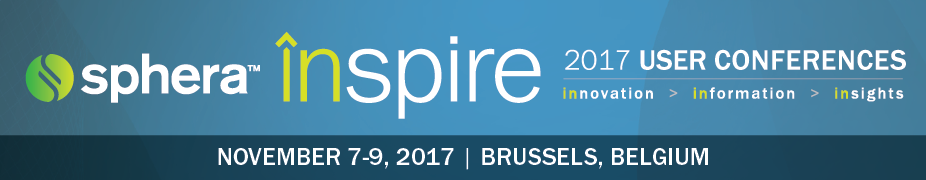 Sphera inspire EMEA 2017 User Conference