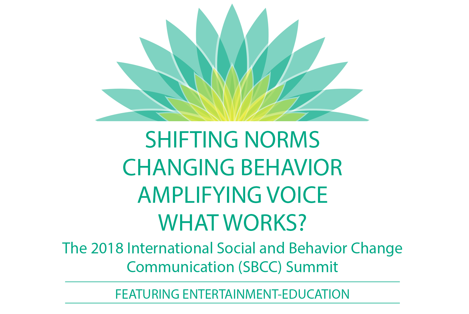 2018 International SBCC Summit Featuring Entertainment-Education