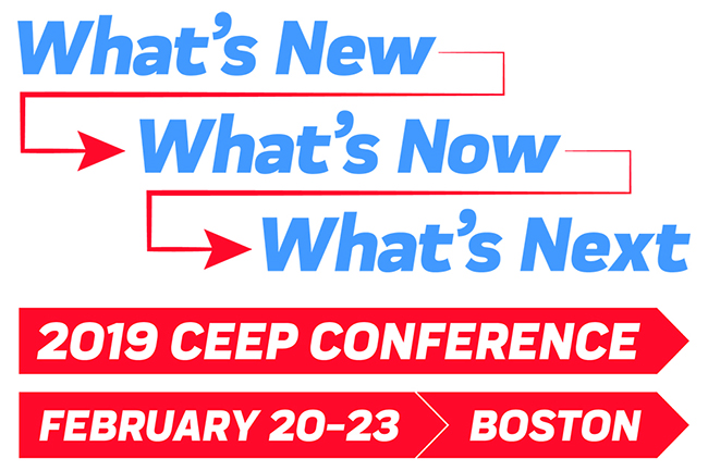 2019 CEEP Conference: What's New What's Now What's Next